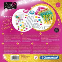 Clementoni 18505 Crazy Chic My Desire Charms Craft for Kids Roleplay Toy